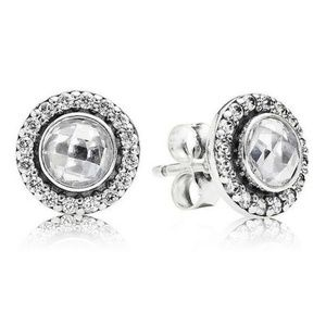 NEW! AUTHENTIC PANDORA EARRINGS BRILLIANT LEGACY